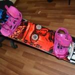 Продаю сноуборд Libtech с креплениями