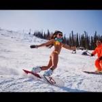 Сноубординг в бикини1:57 6 191