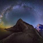Млечный Путь над горой Коба-Кая.