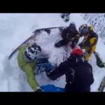 Сегодня в Шерегеше спасли сноубордиста.Сноубордист